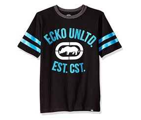Ecko Unltd Little Boys' Classic Short Sleeve T-Shirt, Black