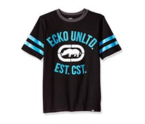 Ecko Unltd Boys' Classic Short Sleeve T-Shirt, Black