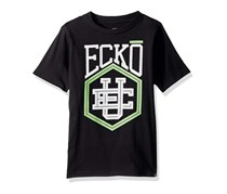 Ecko Unltd Little Boys Classic Short Sleeve T-Shirt, Black
