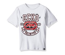 Ecko Unltd Little Boys' Classic Short Sleeve T-Shirt, White