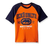 Ecko Unltd Boys' Classic Short Sleeve T-Shirt, Orange