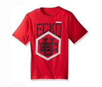 Ecko Unltd Boys' Classic Short Sleeve T-Shirt, Engine Red