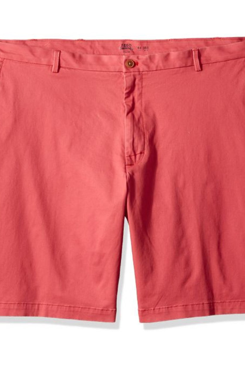 Men's Saltwater Flat Front Shorts, Saltwater Red