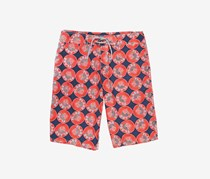 Vilebrequin Men's Printed Shorts, Blue Marine