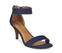 Style & Co Paycee Two-Piece Dress Sandals, Denim