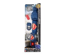 DC Justice League Superman Belt & Blast Pack, Blue/Red