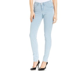 Style & co. Tummy-Control Skinny Jeans, Diamond Wash