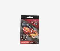 Disney Cars Jumbo Playing Cards, Red