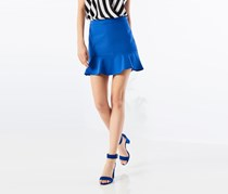 Women's Frilled Skirt, Blue