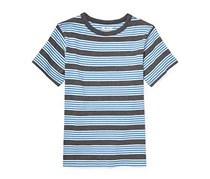 The Children's Place Boy's Stripe Top, Blue/Gray