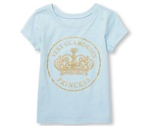 The Children's Place Very Glamorous Princess Top, Blue