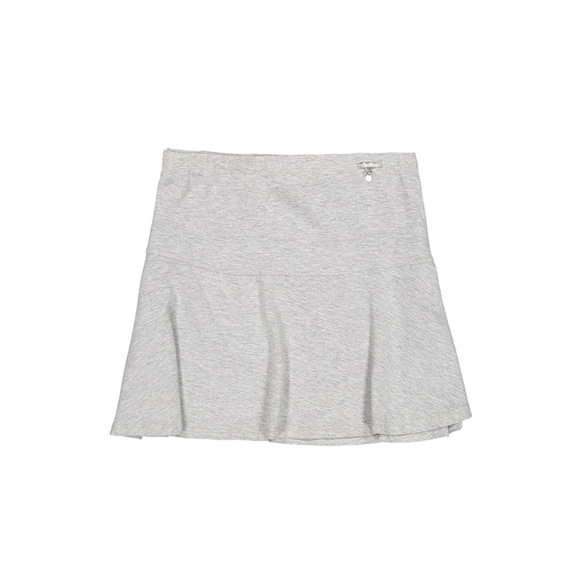 Women Mini Skirt, Grey