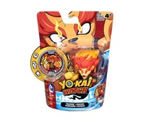 Hasbro Yokai Watch Medal Moments Figure with Medal - Blazion, Red/Yellow