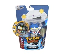 Hasbro Yokai Watch Medal Moments Figure with Medal - Robonyan, Blue/White