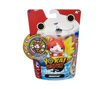 Hasbro Yokai Watch Medal Moments Figure with Medal - Jibanyan, Red