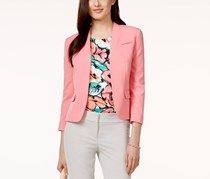 Nine West Collarless Jacket, Bubblegum
