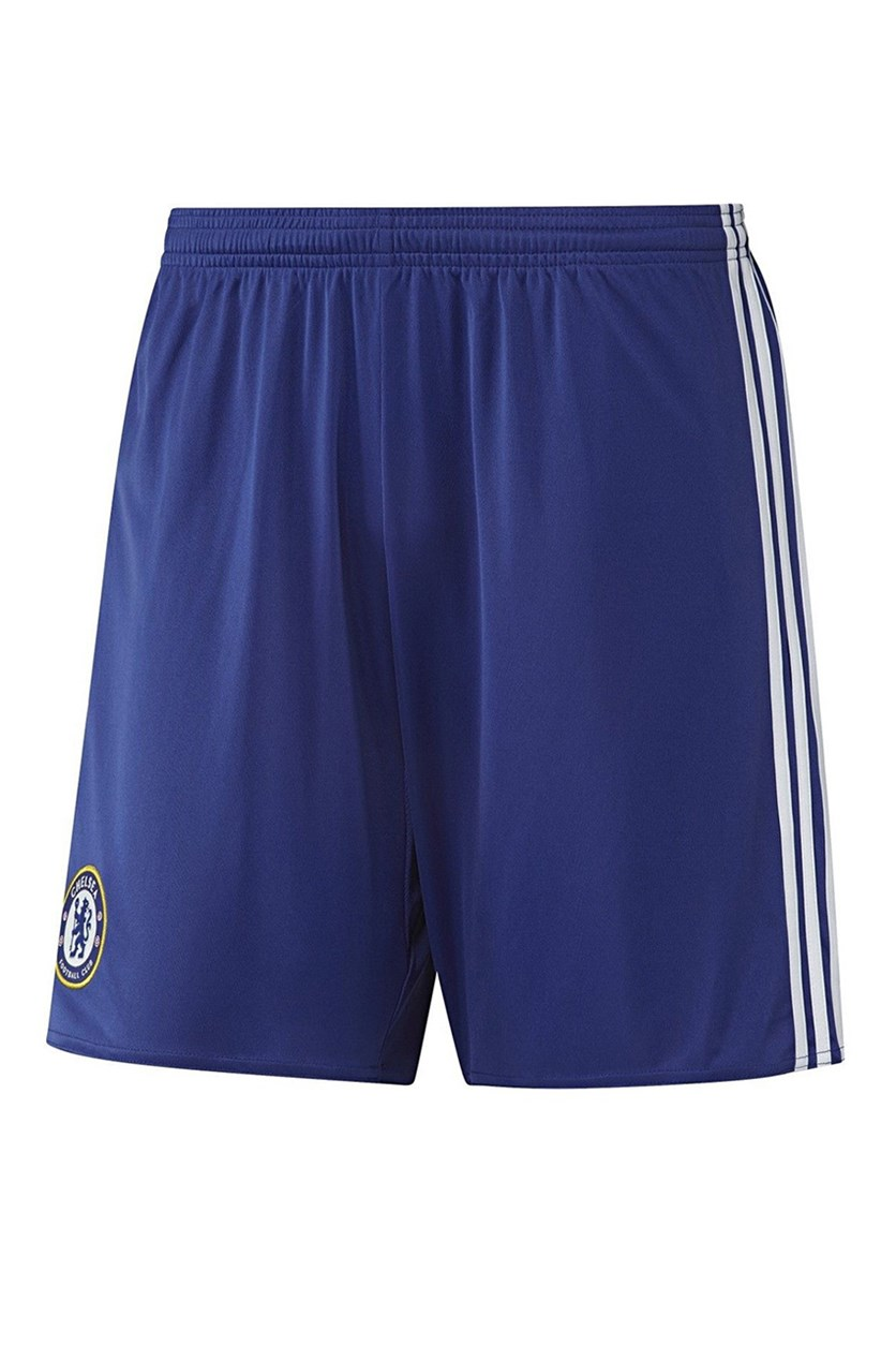 Adidas Boy's Chelsea 2017 Home Athletic Sport Soccer Shorts, Blue