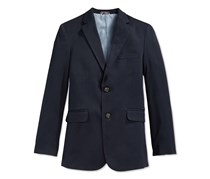 Tommy Hilfiger Big Boys' Alexander Blazer, Navy Blue