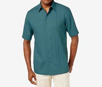 Cubavera Men's Paneled Shirt, Tapestry