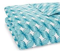 John Robshaw Jamali Duvet  Queen Cover, Turquoise Floral