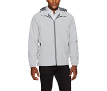 Weatherproof Garment Co. Men's Hooded Ultra Stretch Jacket, Polar Grey