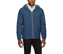 Weatherproof Garment Co. Men's Hooded Ultra Stretch Jacket, Moon Blue