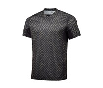 Ideology Mens Printed Performance T-Shirt, Aged Olive