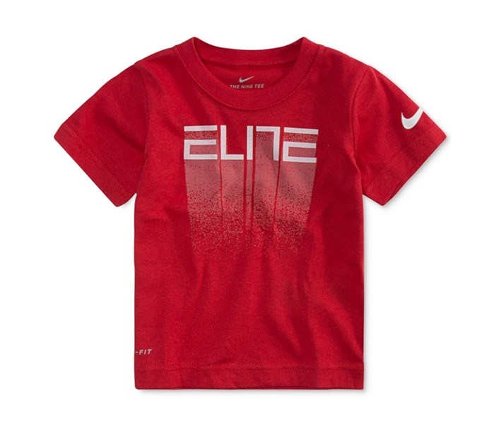 Dri-fit Graphic-Print T-Shirt, University Red