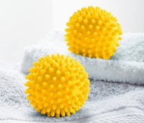 2 Tumble-Drying Balls, Yellow