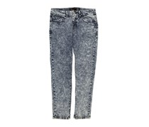 Chillin Women's Washed Jeans, Denim
