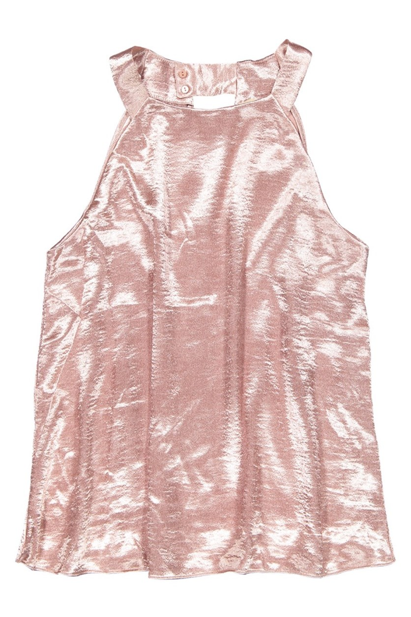 Women Sleeveless Top, Blush