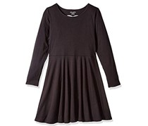 The Children's Place Little Girl's Dress, Black
