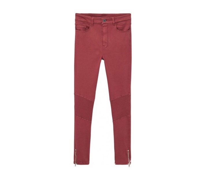 Women's Jeans, Dark Red