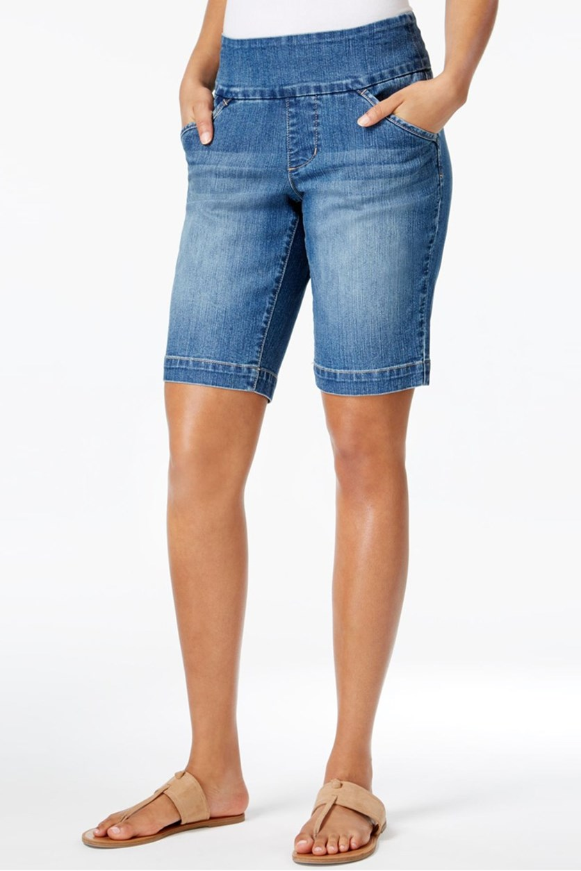 Women's Ainsley Bermuda Shorts, Weathered Blue