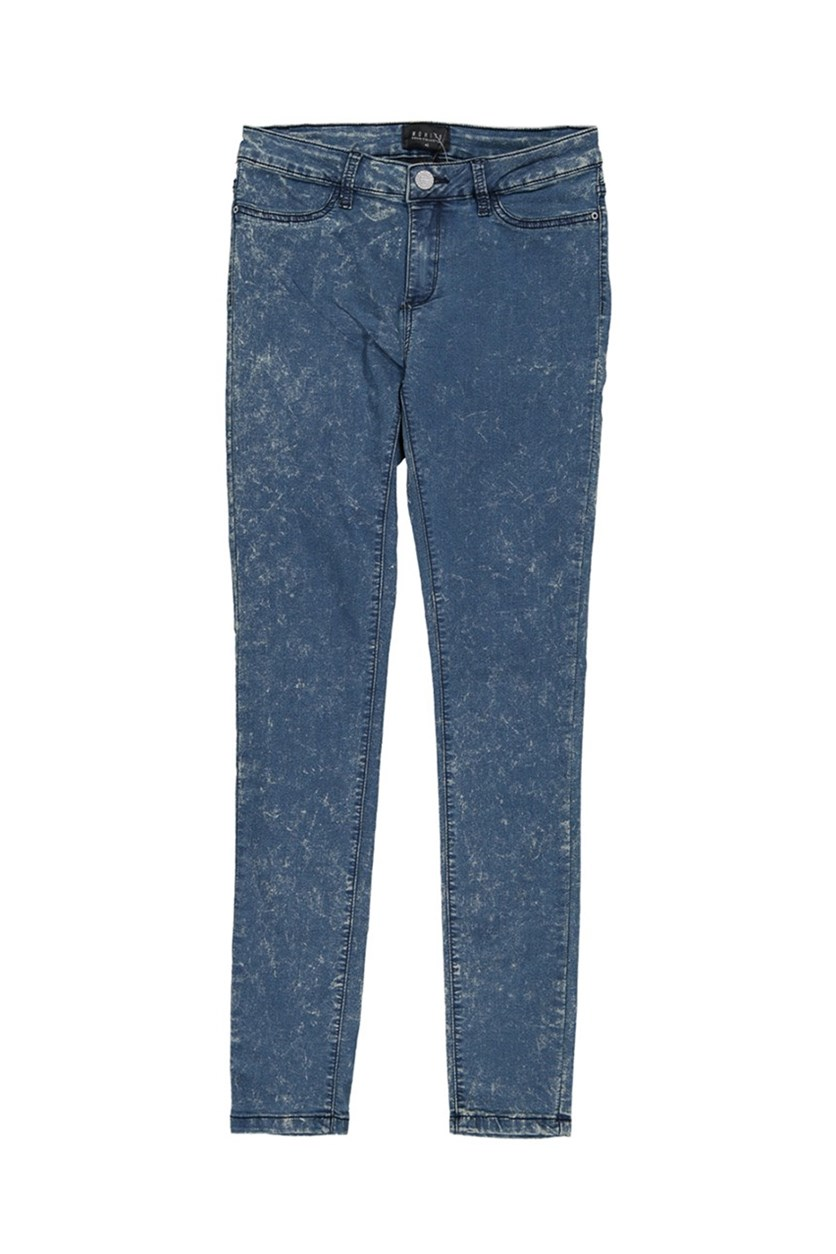 Womens Wash Jeans, Blue Wash