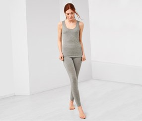 Women's Leggings, Grey