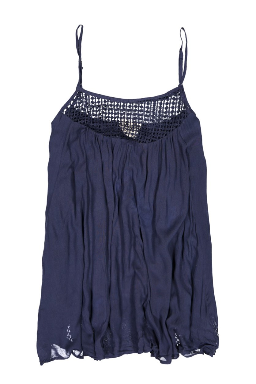 Women's Sleeveless Mariko Top, Navy