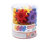 Korbo Educational Game Toys, Red/Yellow/Blue/Purple