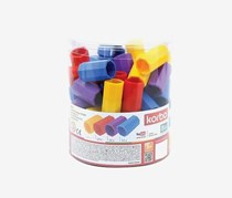 Korbo Educational Game Toys, Blue/Red/Purple/Yellow