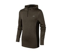 New Balance Toddlers  Quarter-Zip Pullover,  Grey