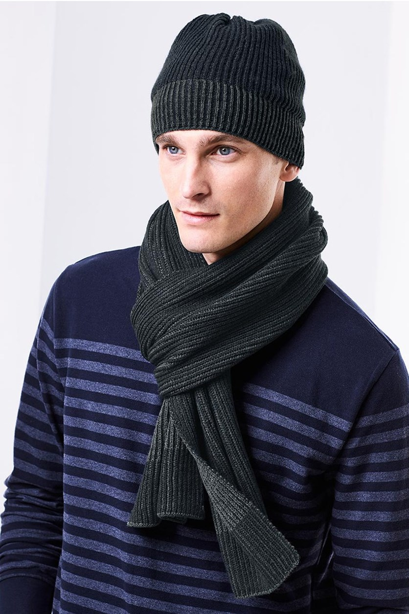 Men's Scarf, Blue
