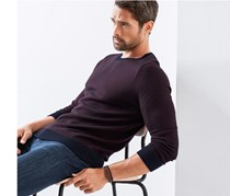 Men's Pullover Sweater, Bordeaux