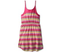 Splendid Big Girl's Melange Printed Stripe Dress, Dark Pink