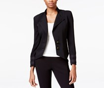 Rachel Roy Military Blazer, Black