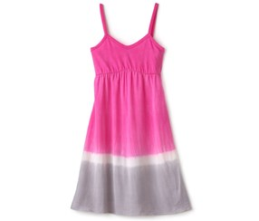 Splendid Girl's Dress, Pink/Gray