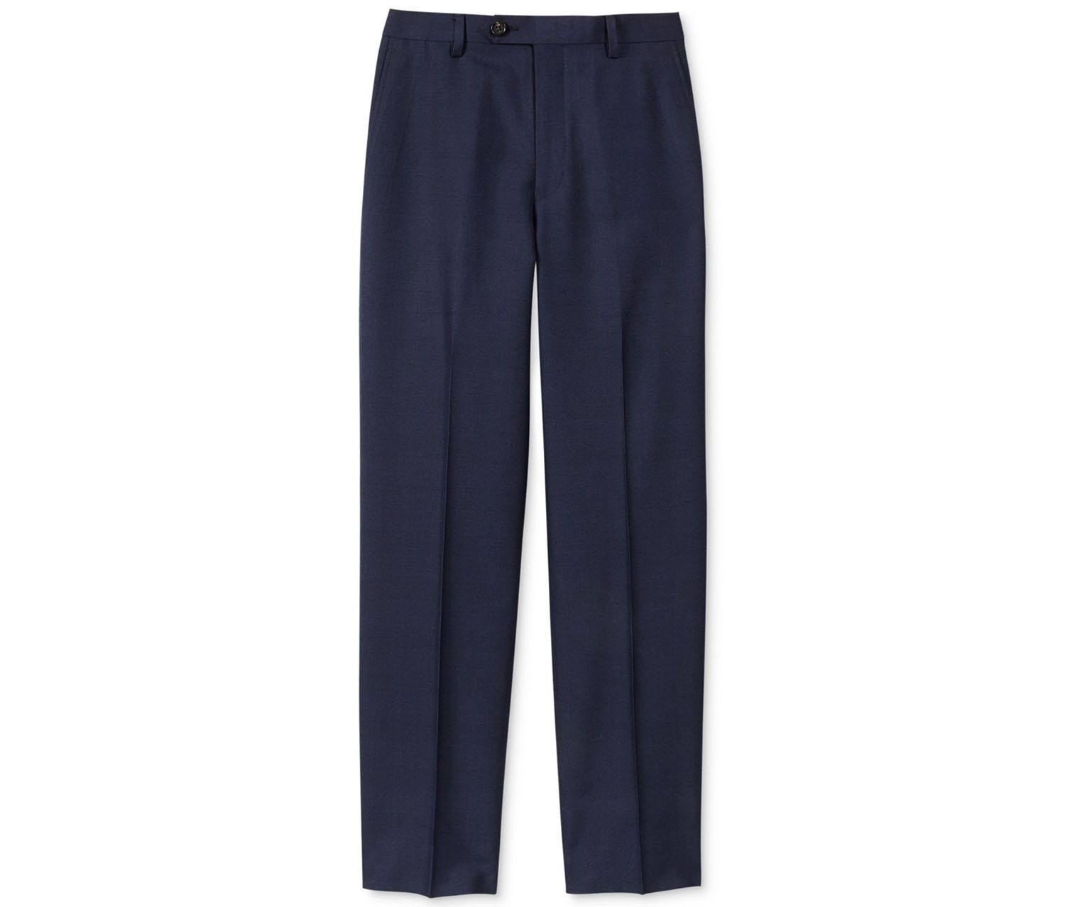 Ralph Lauren Boys Plaid Pants, Navy Blue