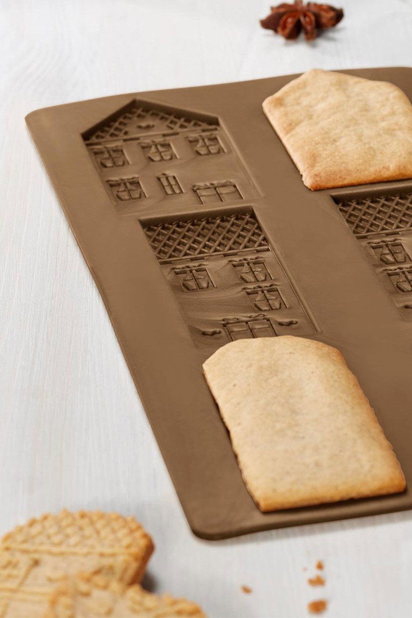 Speculoos Baking Tray Set of 2, Brown