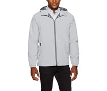 Weatherproof Garment Co. Men's Hooded Ultra Stretch Jacket, Grey