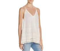 PPLA Women Sleeveless Top, Ivory