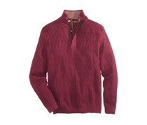 Tasso Elba Men's Henley Sweater, Port Royale Heather